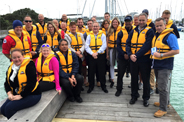 Waters Edge Reflection in Support of Safer Boating Week 2015