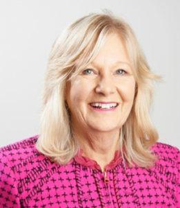 Board member Sandi Gusscott